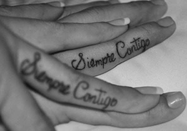 Adorable Couple Tattoo Designs and Ideas (43)