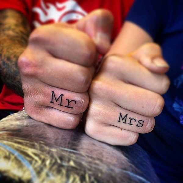 Adorable Couple Tattoo Designs and Ideas (9)