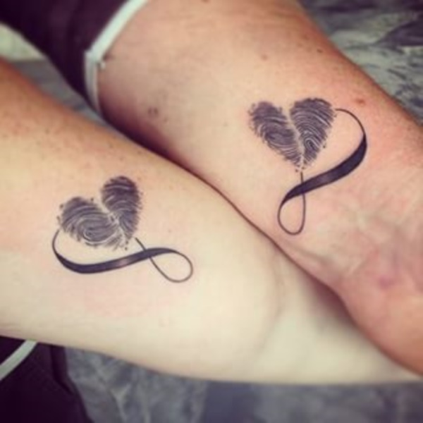 Adorable Couple Tattoo Designs and Ideas0041