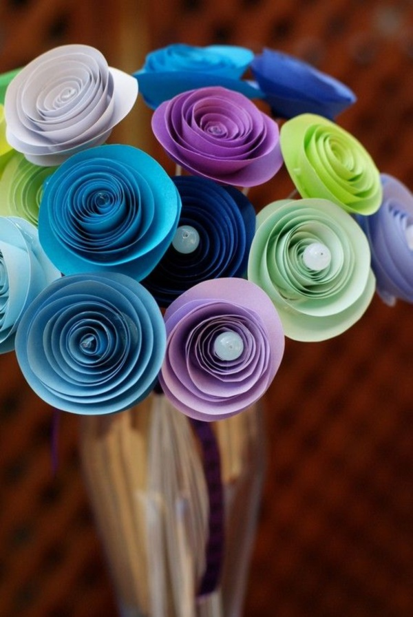 Creative and Useful paper flower Ideas0341
