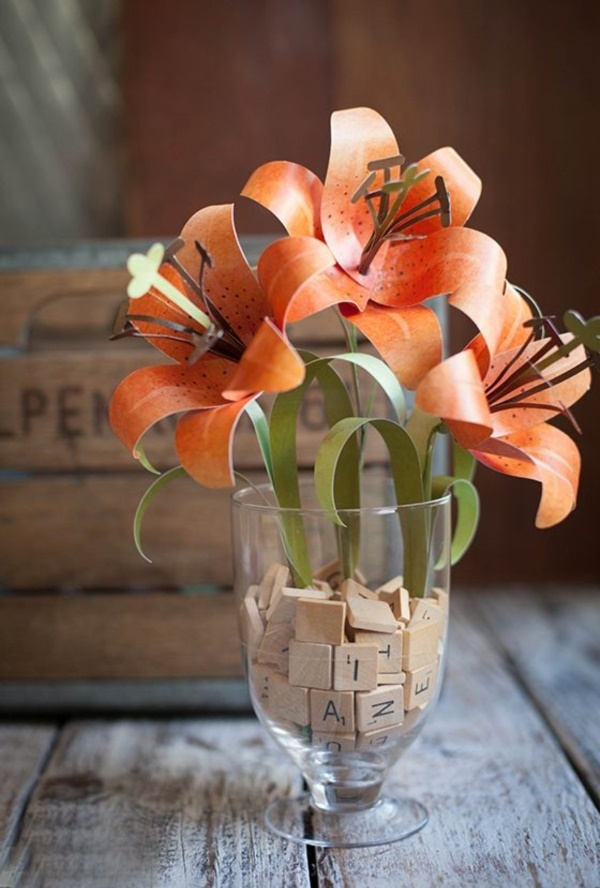 Creative and Useful paper flower Ideas0431