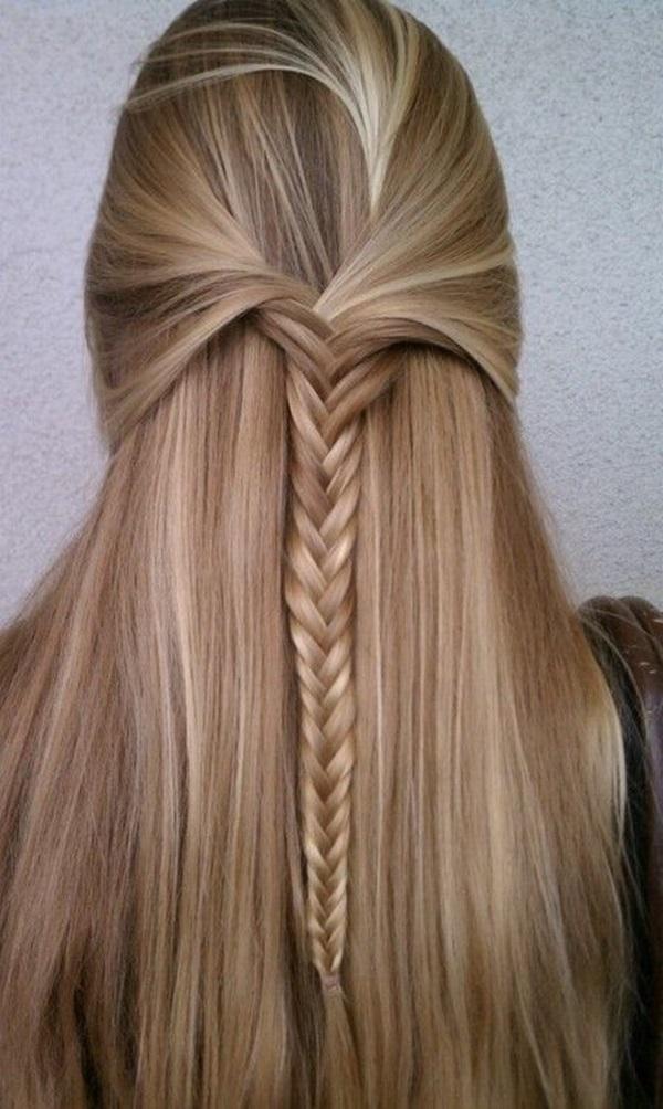 Cute braided hairstyles for long hair (10)
