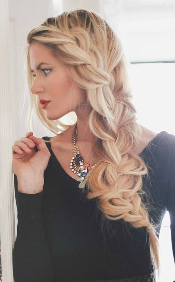 Wondrous 50 Cute Braided Hairstyles For Long Hair Hairstyle Inspiration Daily Dogsangcom