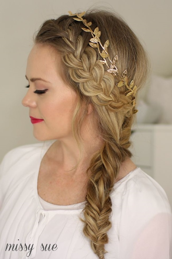 cute braid styles for long hair 50 braided hairstyles for hair 8734 | Cute braided hairstyles for long hair 3