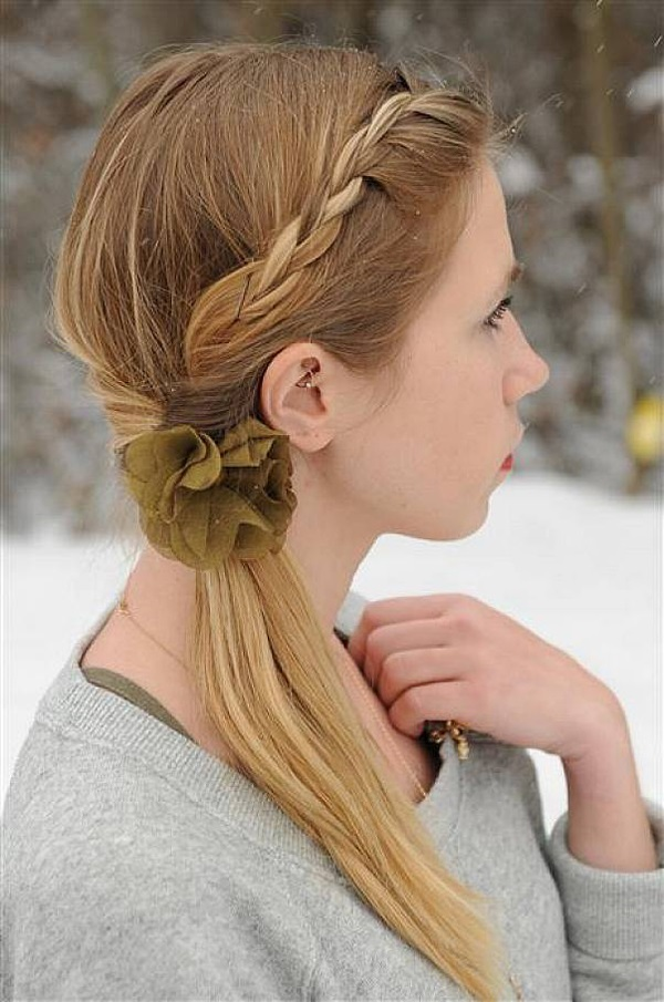 cute braid styles for long hair 50 braided hairstyles for hair 8734 | Cute braided hairstyles for long hair 45