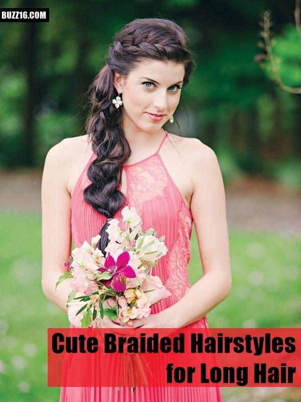 Wondrous 50 Cute Braided Hairstyles For Long Hair Short Hairstyles Gunalazisus