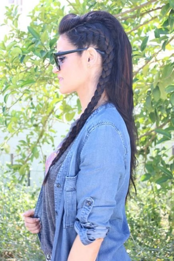 Cute braided hairstyles for long hair (9)