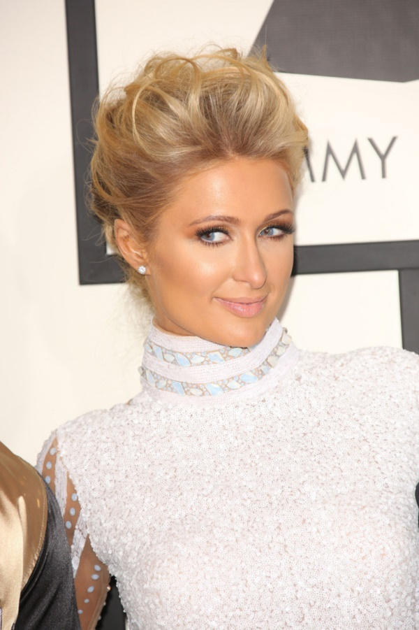 01/26/2014 - Paris Hilton - 56th Annual Grammy Awards - Arrivals - Staples Center - Los Angeles, CA, USA - Keywords: California, Music, Award, Fashion, Grammy Awards, Arts Culture and Entertainment, Attending, Celebrities, celebrity, 56th Grammy Awards Orientation: Portrait Face Count: 1 - False - Photo Credit: Andrew Evans  / PR Photos - Contact (1-866-551-7827) - Portrait Face Count: 1