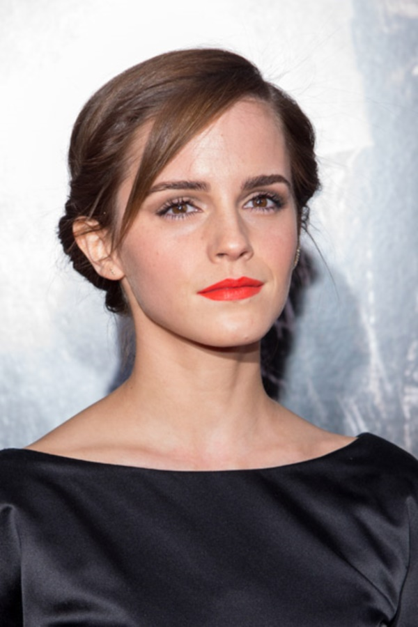 "NEW YORK, NY - MARCH 26:  Actress Emma Watson attends the ""Noah"" premiere at Ziegfeld Theatre on March 26, 2014 in New York City.  (Photo by Mike Pont/FilmMagic)"