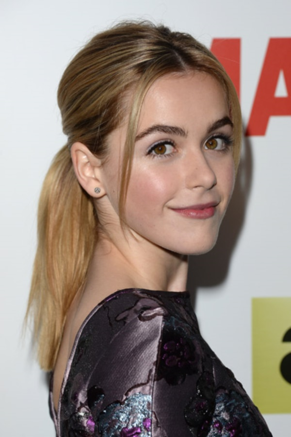 HOLLYWOOD, CA - APRIL 02:  Actress Kiernan Shipka attends the AMC celebration of the 'Mad Men' season 7 premiere at ArcLight Cinemas on April 2, 2014 in Hollywood, California.  (Photo by Jason Merritt/Getty Images)