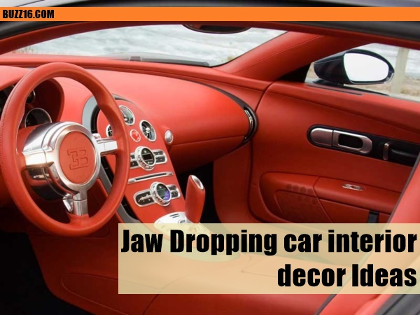 Best interior car design ideas pictures decoration for Auto interior design ideas