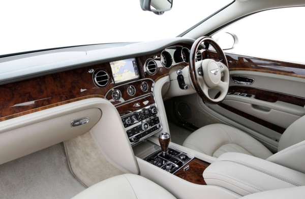 2010 Bentley Mulsanne Custom interior car design