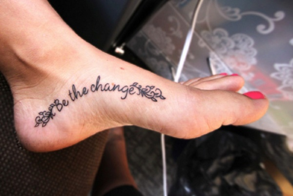 Latest 55 Beautiful Foot Tattoo Designs For Girls0051