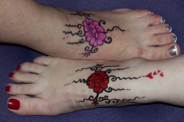 Latest 55 Beautiful Foot Tattoo Designs For Girls0111