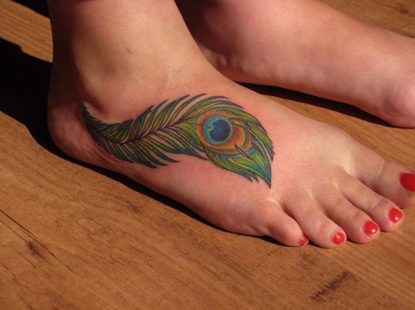 Latest 55 Beautiful Foot Tattoo Designs For Girls0141