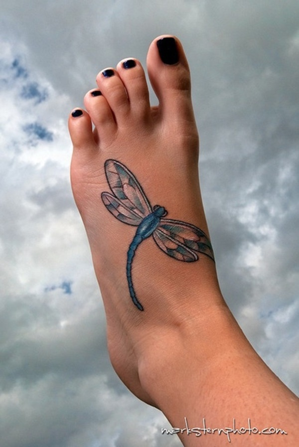 Latest 55 Beautiful Foot Tattoo Designs For Girls0181