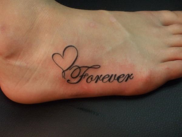 Latest 55 Beautiful Foot Tattoo Designs For Girls0251