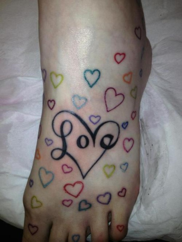 Latest 55 Beautiful Foot Tattoo Designs For Girls0271