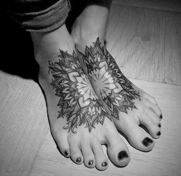 Latest 55 Beautiful Foot Tattoo Designs For Girls0331