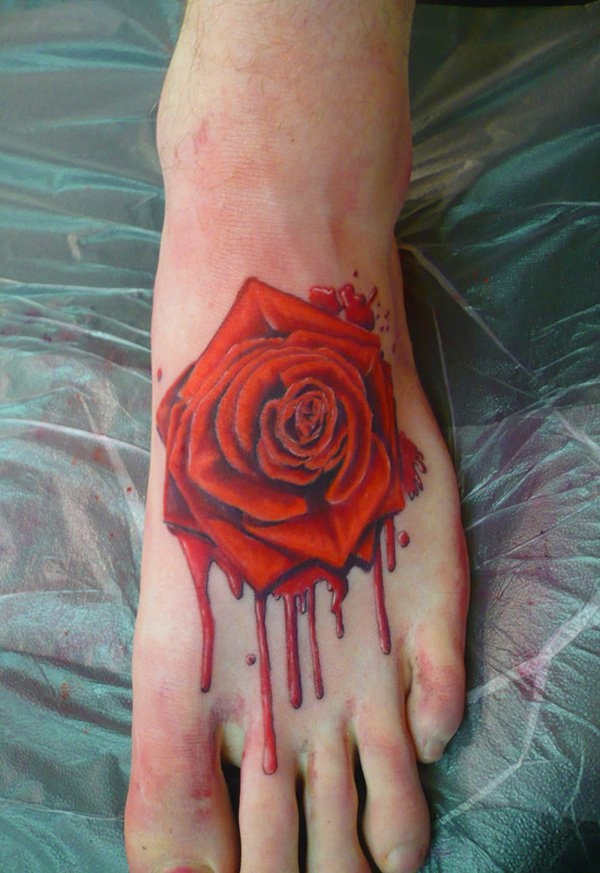 Latest 55 Beautiful Foot Tattoo Designs For Girls0401