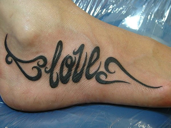 Latest 55 Beautiful Foot Tattoo Designs For Girls0481