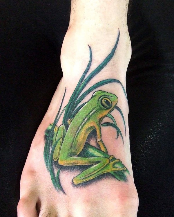 Latest 55 Beautiful Foot Tattoo Designs For Girls0501