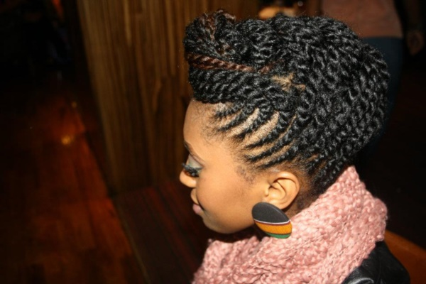 Latest  Hairstyles for Kinky Hair0001