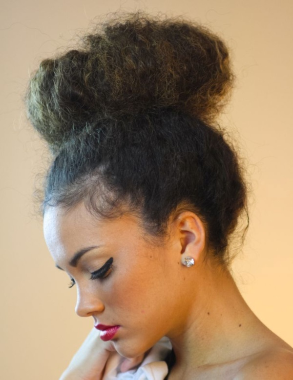 Latest  Hairstyles for Kinky Hair0021