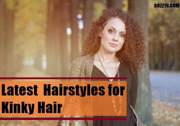 Latest  Hairstyles for Kinky Hair0161