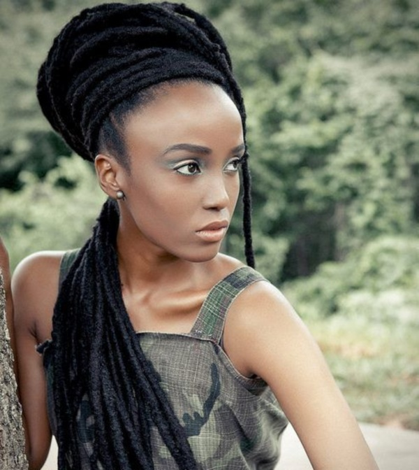 Latest  Hairstyles for Kinky Hair0331