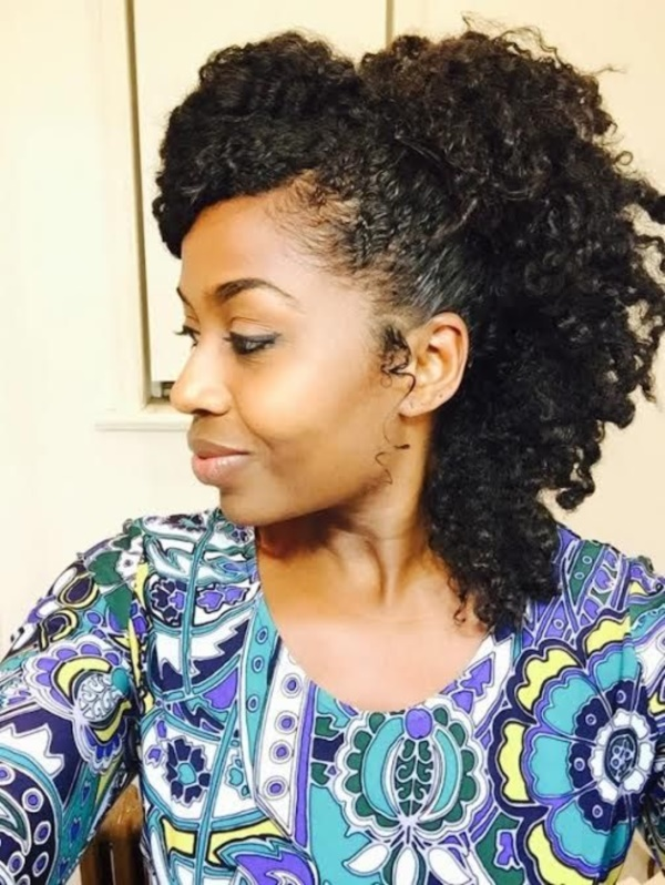 Latest  Hairstyles for Kinky Hair0381