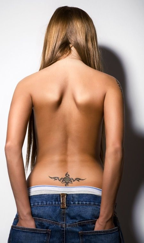 Sexy lower back tattoo designs