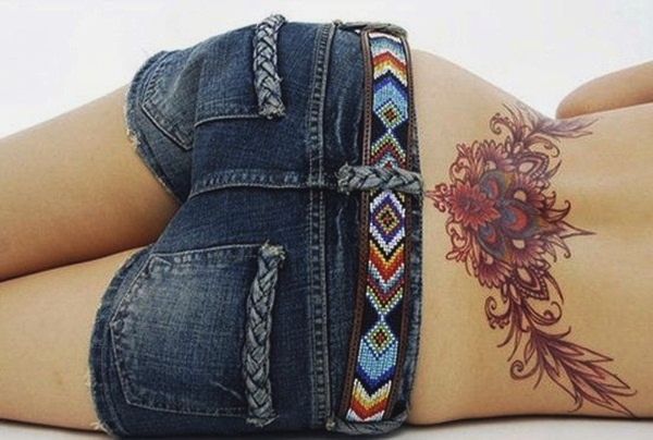 100 lower back tattoo designs for women 2015 for Tattoos lower back female designs
