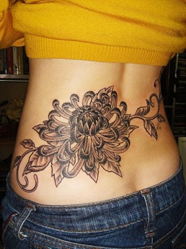 Lower Back Tattoo Design for Women1 (42)
