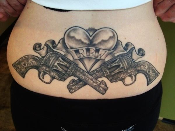 Lower Back Tattoo Design for Women1 (51)