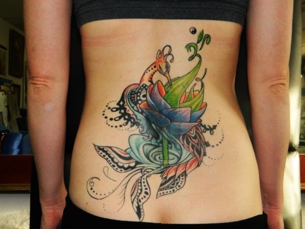 Lower Back Tattoo Design for Women1 (55)