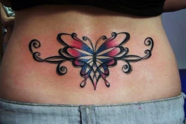Lower Back Tattoo Design for Women1 (57)