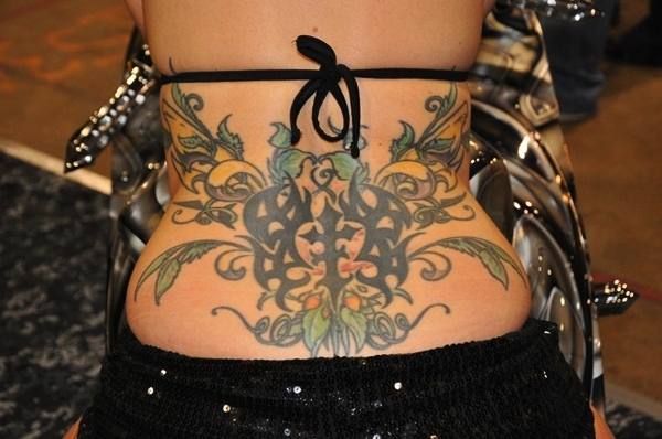 Lower Back Tattoo Design for Women1 (6)