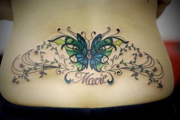 Lower Back Tattoo Design for Women1 (67)
