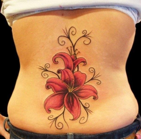 Lower Back Tattoo Design for Women1 (68)