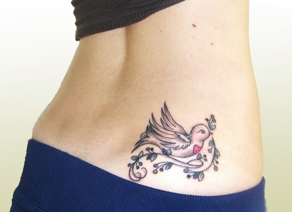 Lower Back Tattoo Design for Women1 (7)