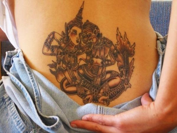 Lower Back Tattoo Design for Women1 (73)