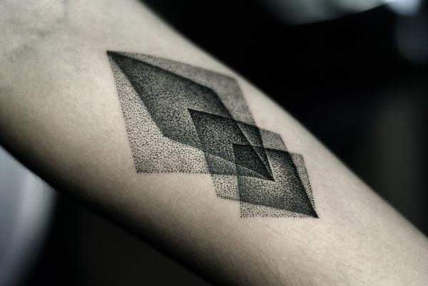 Nerdy Geometric Pattern Tattoo Designs0041