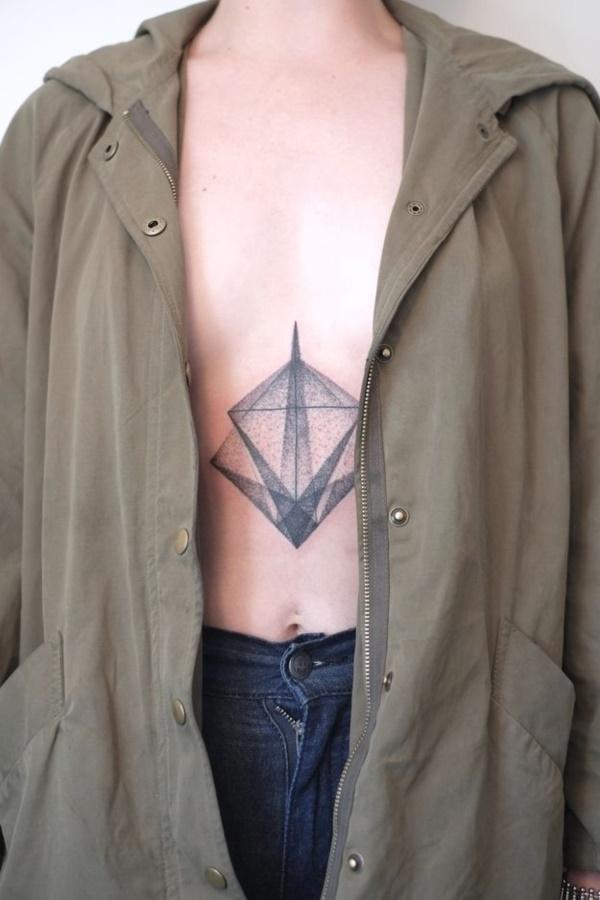 Nerdy Geometric Pattern Tattoo Designs0051