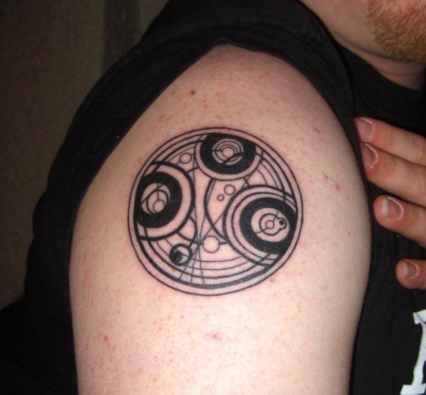 Nerdy Geometric Pattern Tattoo Designs0071