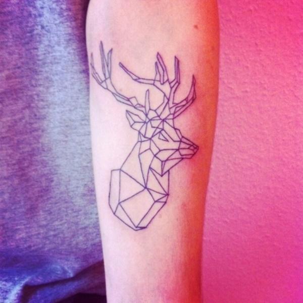 Nerdy Geometric Pattern Tattoo Designs0131