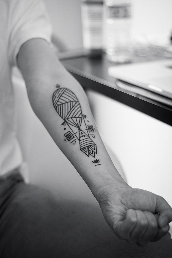 Nerdy Geometric Pattern Tattoo Designs0141