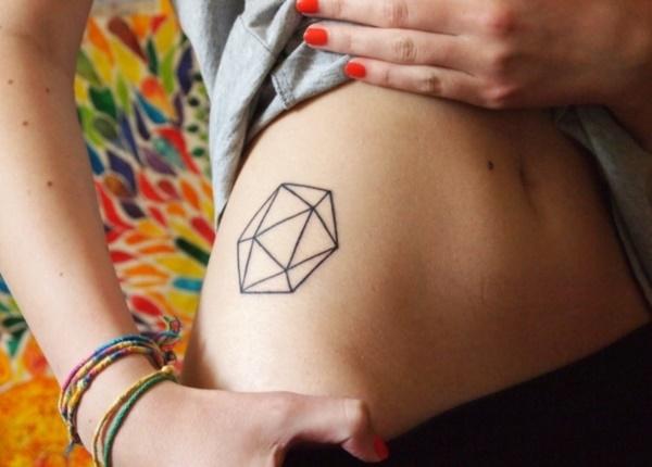 Nerdy Geometric Pattern Tattoo Designs0151