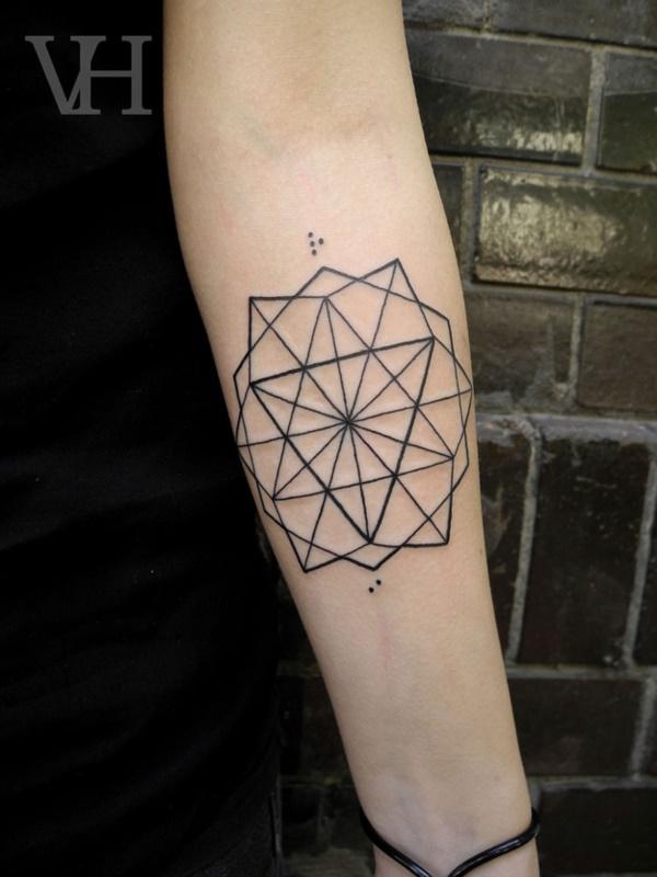 Nerdy Geometric Pattern Tattoo Designs0161