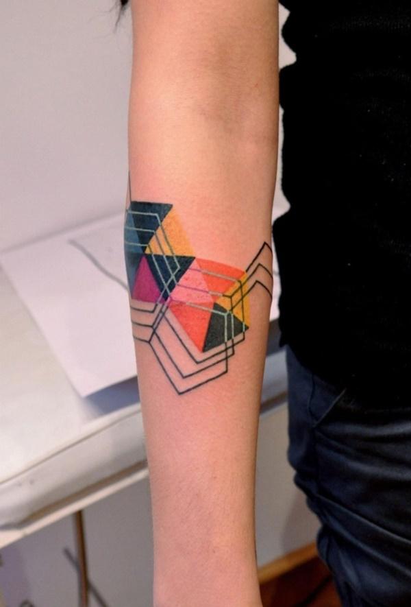 Nerdy Geometric Pattern Tattoo Designs0201
